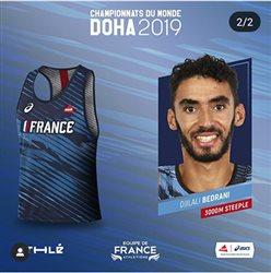 Championnats du Monde DOHA 2019 : 4 Occitans en Equipe de France