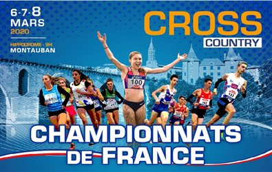 SÉLECTION : Coupe de France des Ligues Minimes  de Cross