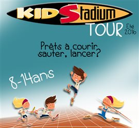 Lancement du Kid Stadium Tour 2016 !