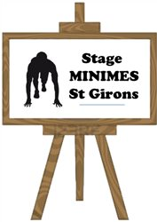 Stage Minimes - St Girons - Du 3 au 6 Avril 2017